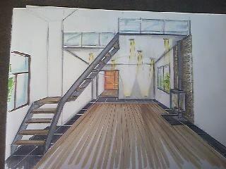 Voici les perspectives realisées par notre amie architecte dinterieure, nous utiliserons ces visuels comme base de nos travaux.
