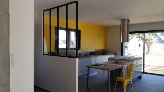 Notre cuisine avec verrière
