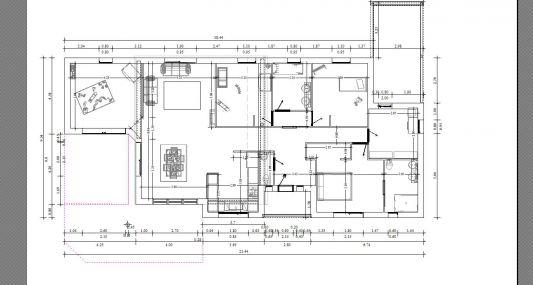 Plan maison plain pied moderne toit plat maison moderne for Plan maison toit plat gratuit
