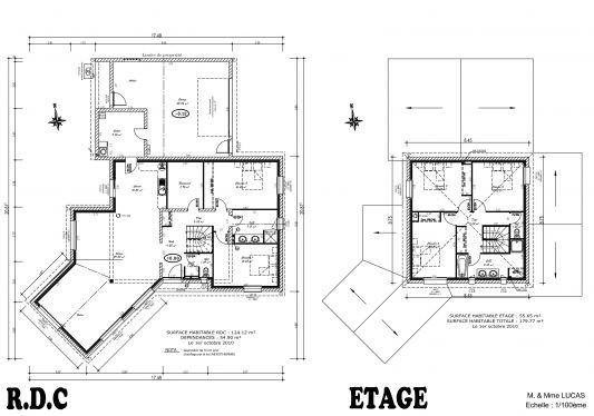 Maison Avec Garage Garage au Fond Avec Arriere