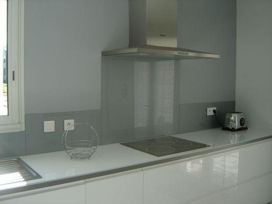 Couleur mur avec cuisine blanc laqué