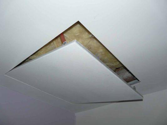 Comment faire une trappe de visite plafond