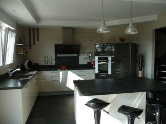eclairage cuisine sans meuble haut