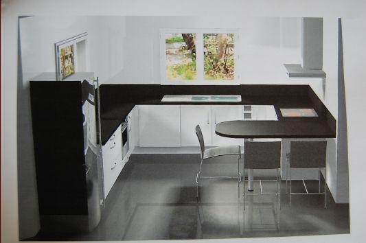 2carrelage Cuisine Gris Foncé : Cuisine Noire Carrelage Gris – decorationenz.tk