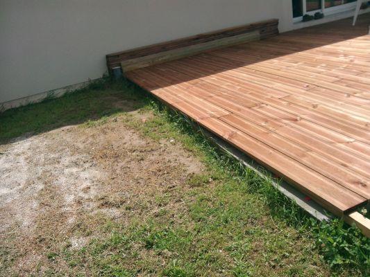 terrasse bois finition