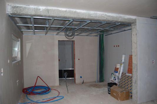 Comment poser un faux plafond sur ossature bois? Leroy Merlin