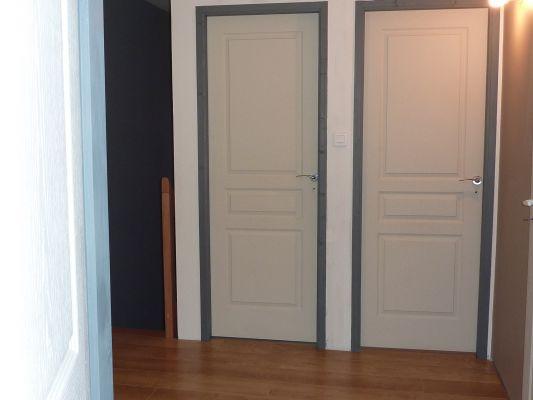 Porte d interieur grise fiord