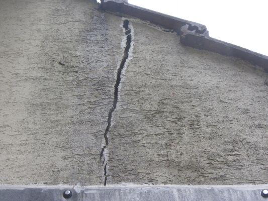 comment reparer un mur exterieur