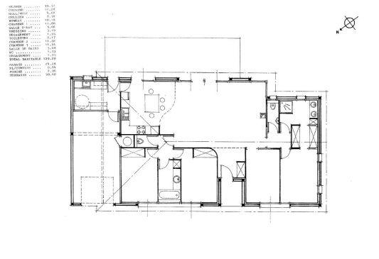 plan maison gratuit 130m2