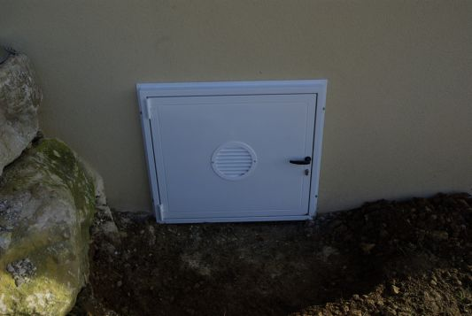 Porte acces vide sanitaire