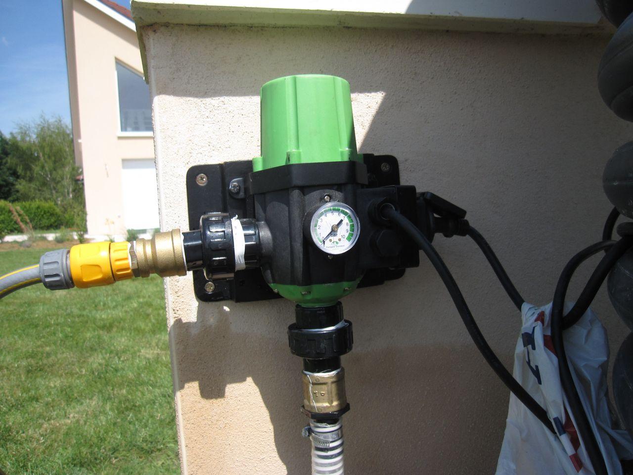 Automatisme Xenacontrol - Il s?agit d?un automate de commande et de protection contre le manque d?eau qui arrête automatiquement le moteur de la pompe ...