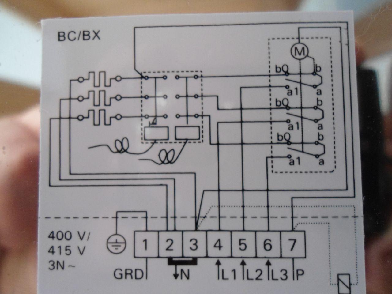 Schéma branchement poêle Harvia BC45