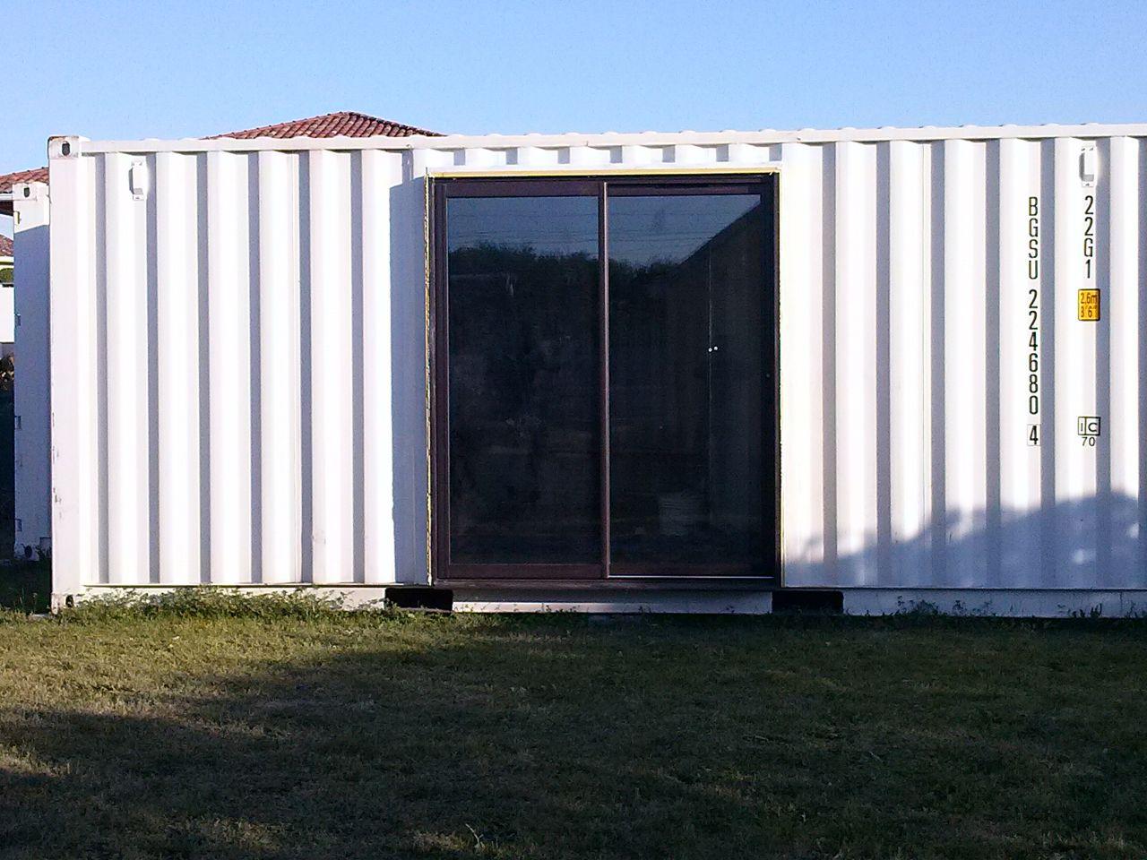garage en container maritime gironde. Black Bedroom Furniture Sets. Home Design Ideas