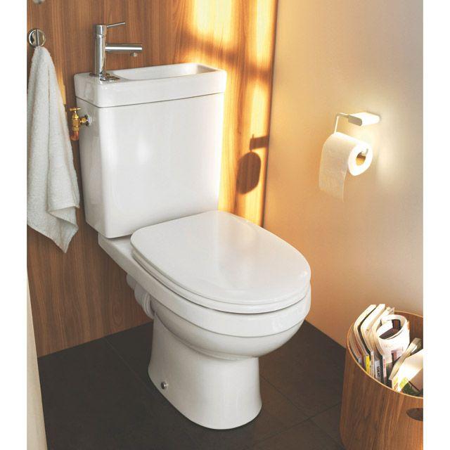 WC avec lave-mains classique