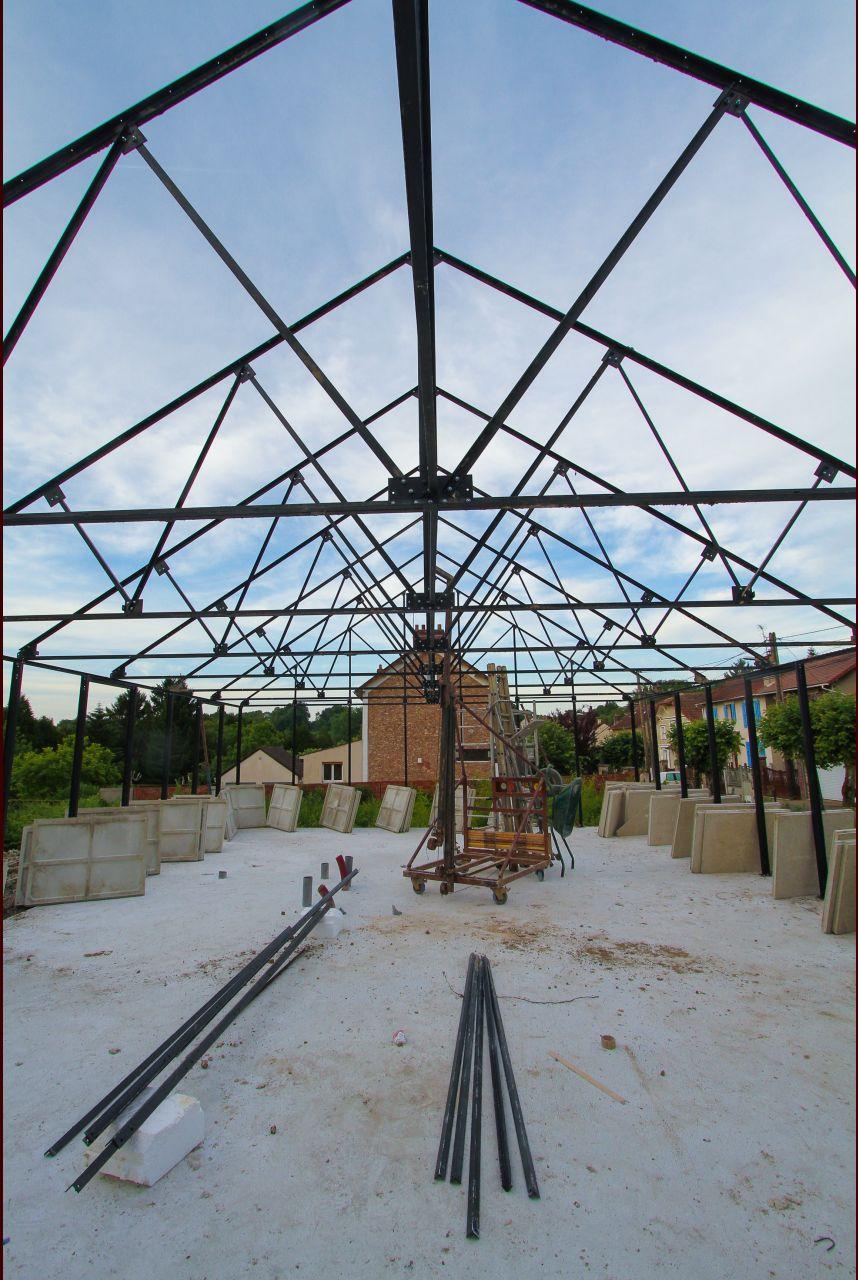 Photo La Structure M Tallique De La Maison Est