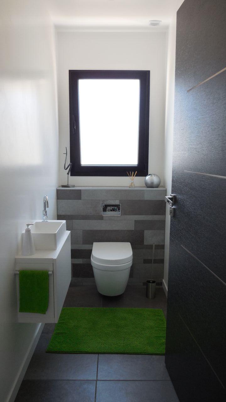 WC du bas - manque plaque de déclenchement Geberit alu brossé
