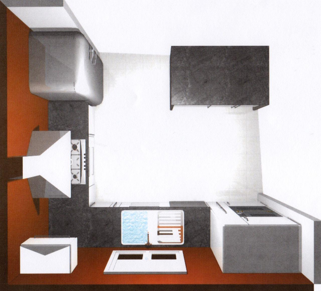 Cool amenager cuisine moins m avis sur amnagement cuisine for Amenager une cuisine de 6m2