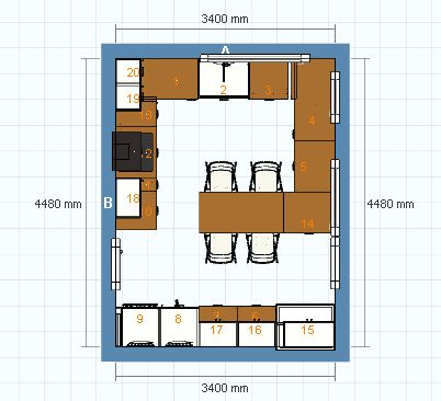 1ers plans de notre maison bient t le permis de construire cuisine ikea b - Ikea simulation cuisine ...