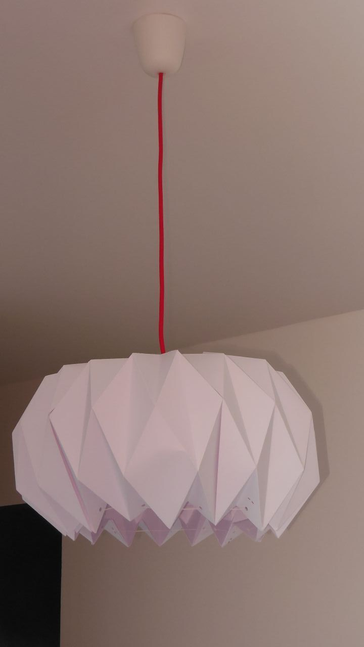 suspension origami merci rosetta haut rhin. Black Bedroom Furniture Sets. Home Design Ideas