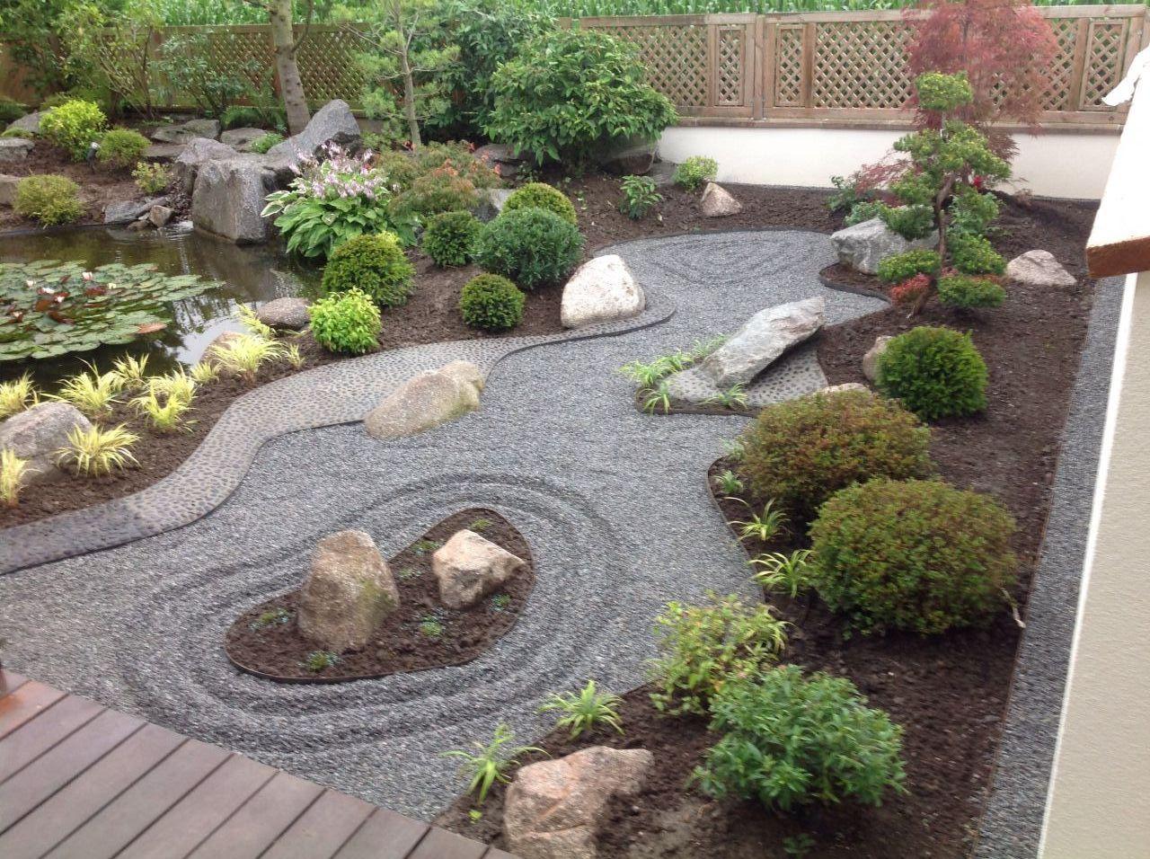 Jardin japonisant zen termin haut rhin for Petit jardin japonisant