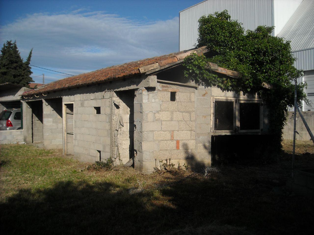 Bati existant : futur garage et atelier