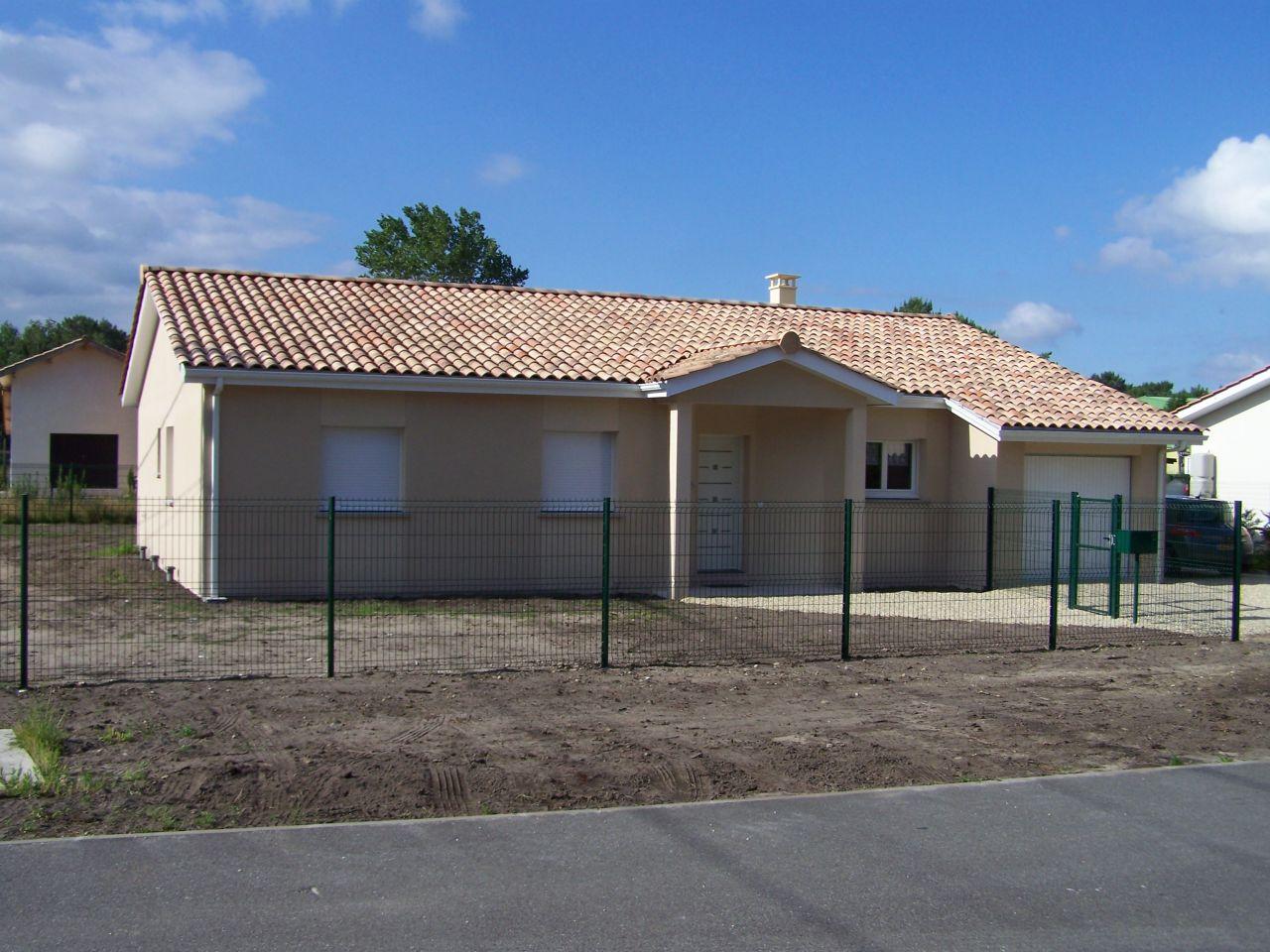 Constructeur maison gironde mca for Plan maison mca