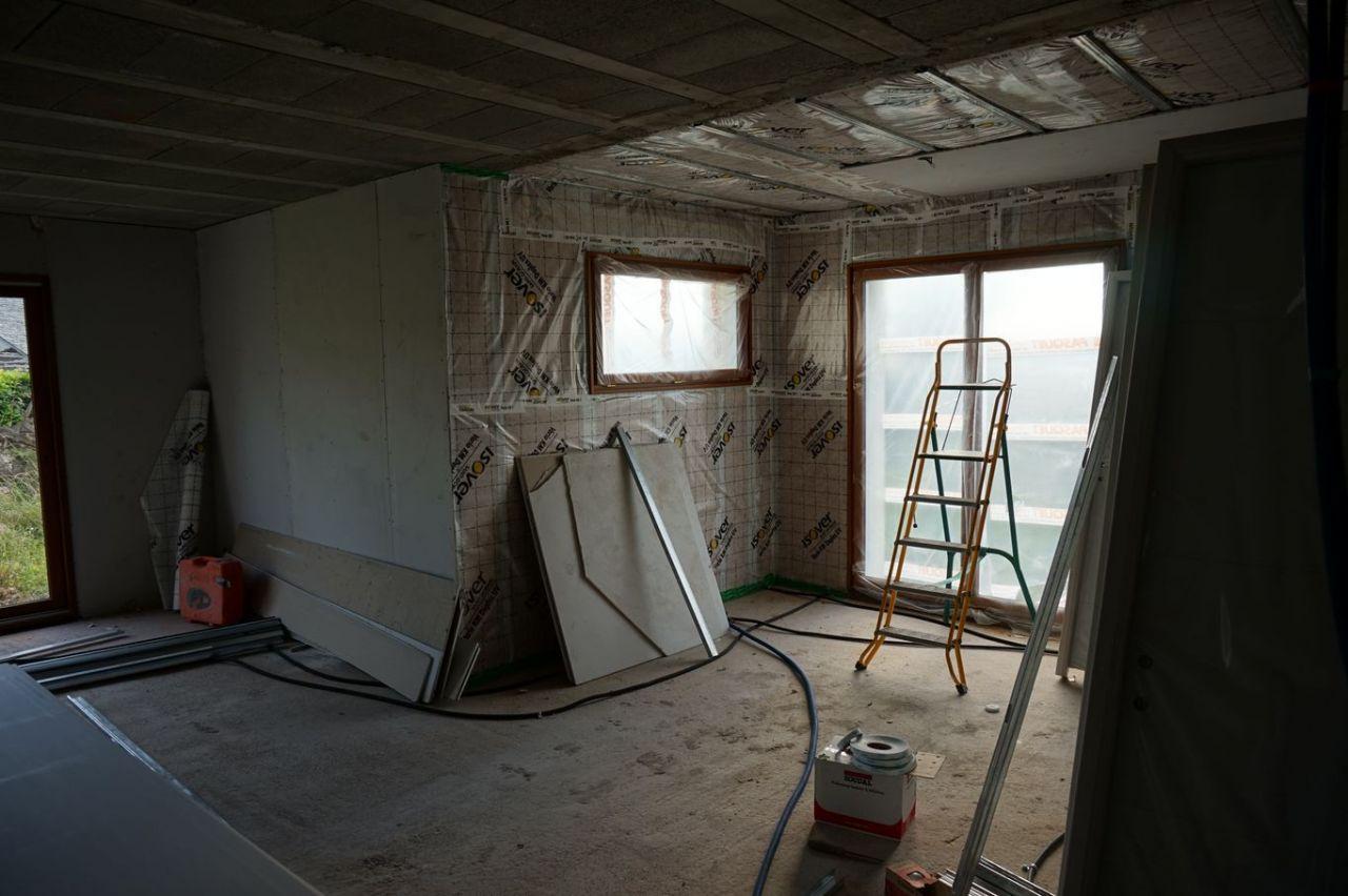demande d 39 avis conseils sur la pose pare vapeur et placo. Black Bedroom Furniture Sets. Home Design Ideas