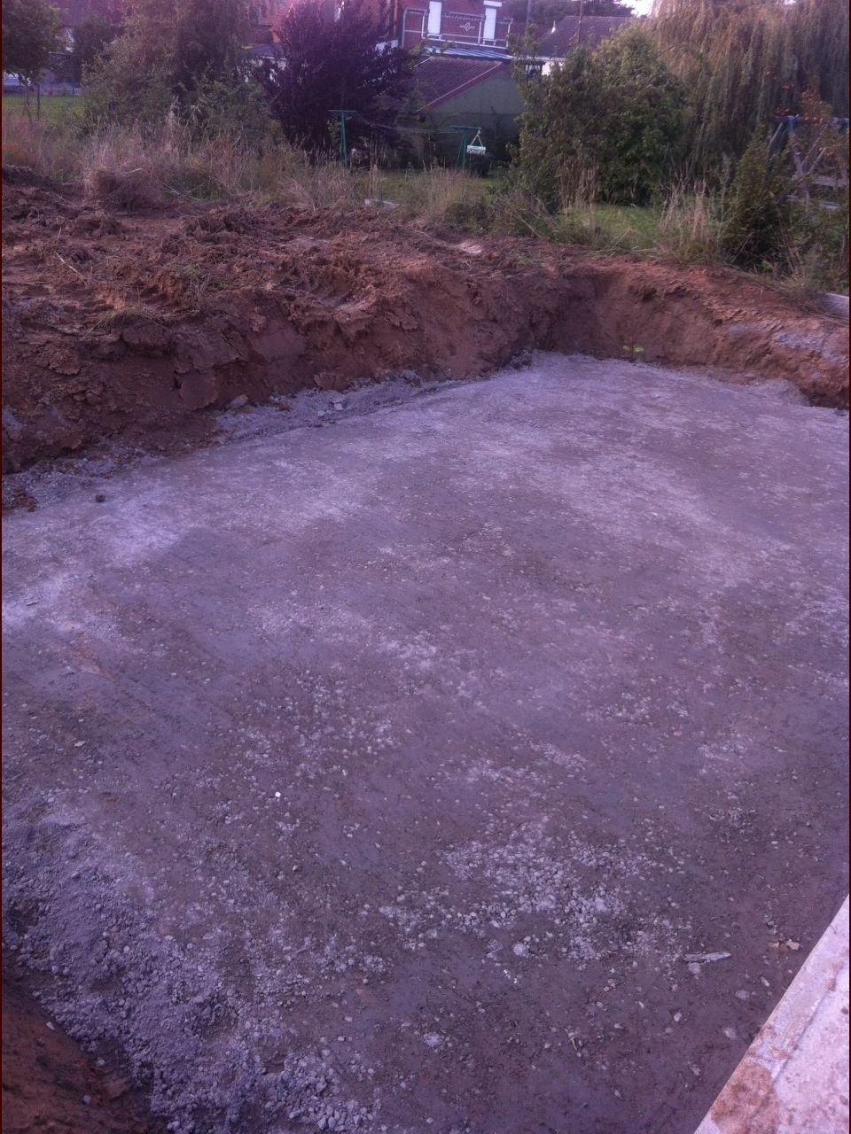 Photo piscine terrassement pas de calais 62 for Piscine 62