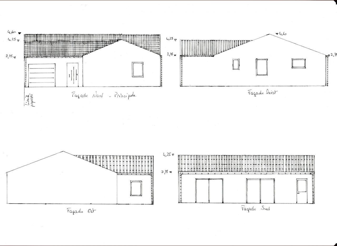 Avis pour maison plain pied 35 messages page 3 for Plan facade maison