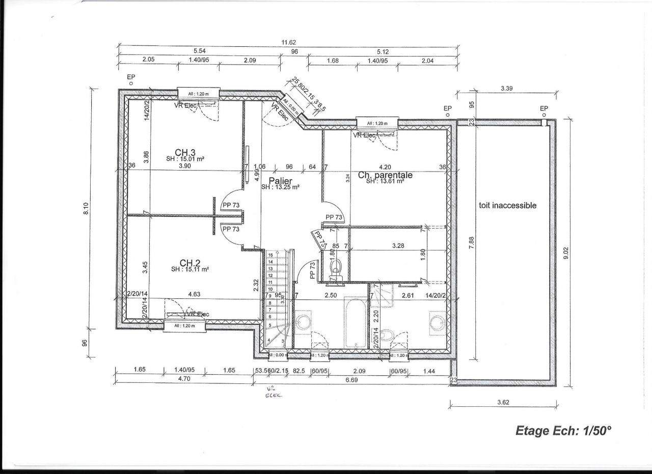 Plans maison toit plat 160m2 40 messages for Comment obtenir vos plans de maison