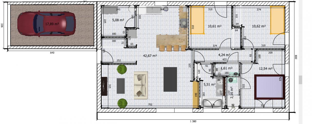 Construction maison 90m2 plain pied qu 39 en pensez vous for Prix construction maison 90m2