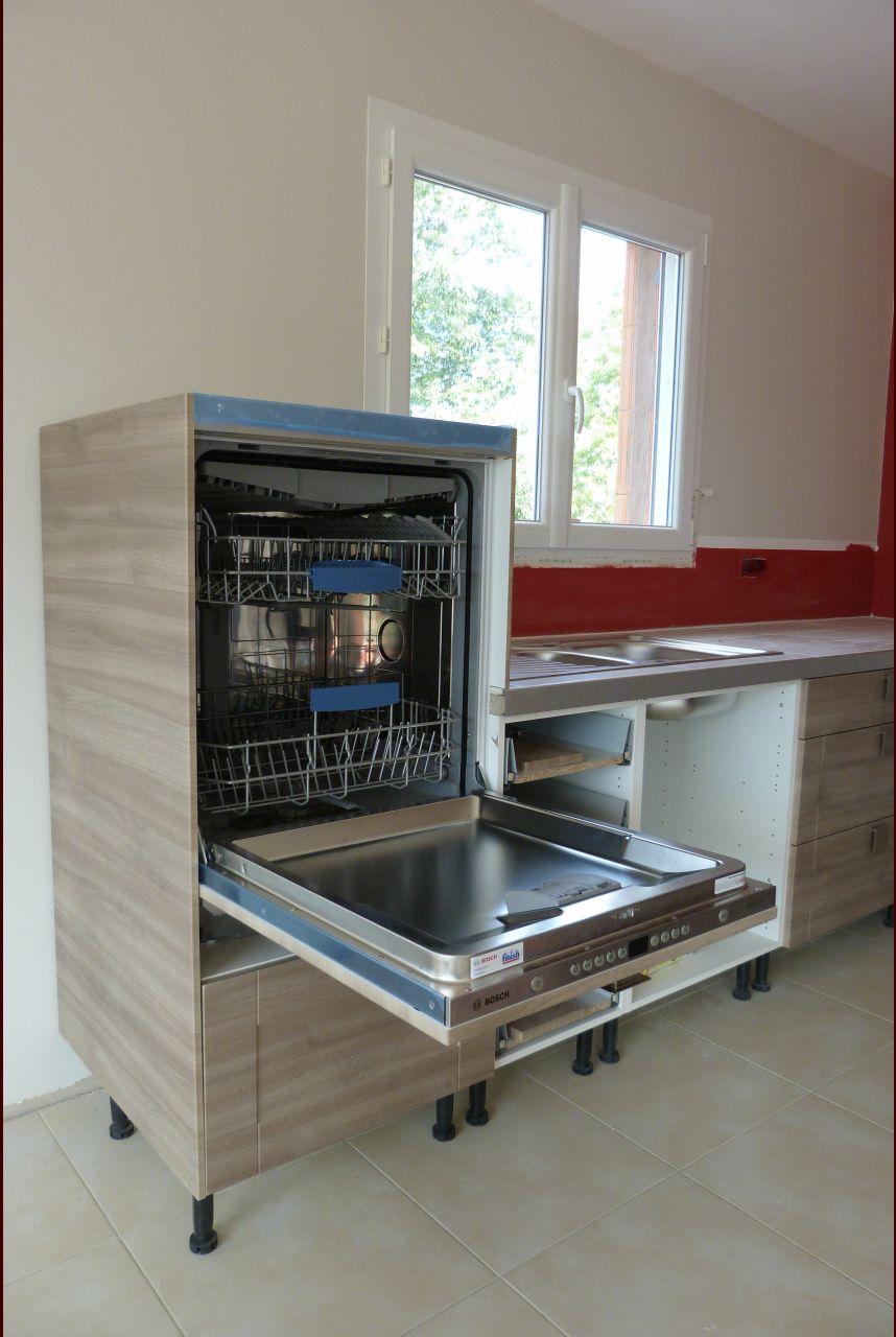 hauteur lave vaisselle - Lave Vaisselle En Hauteur Cuisine