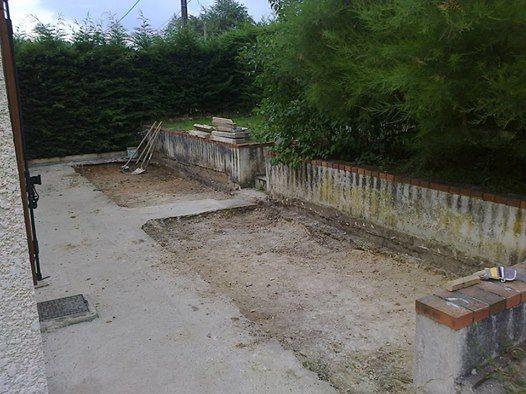 Avis sur dalle b ton pour agrandissement terrasse 5 for Dosage beton pour terrasse