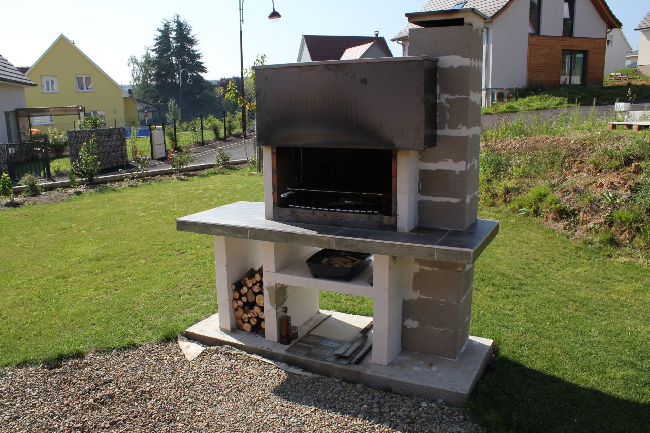 Barbecue fix en brique 11 messages - Plan barbecue en beton cellulaire ...