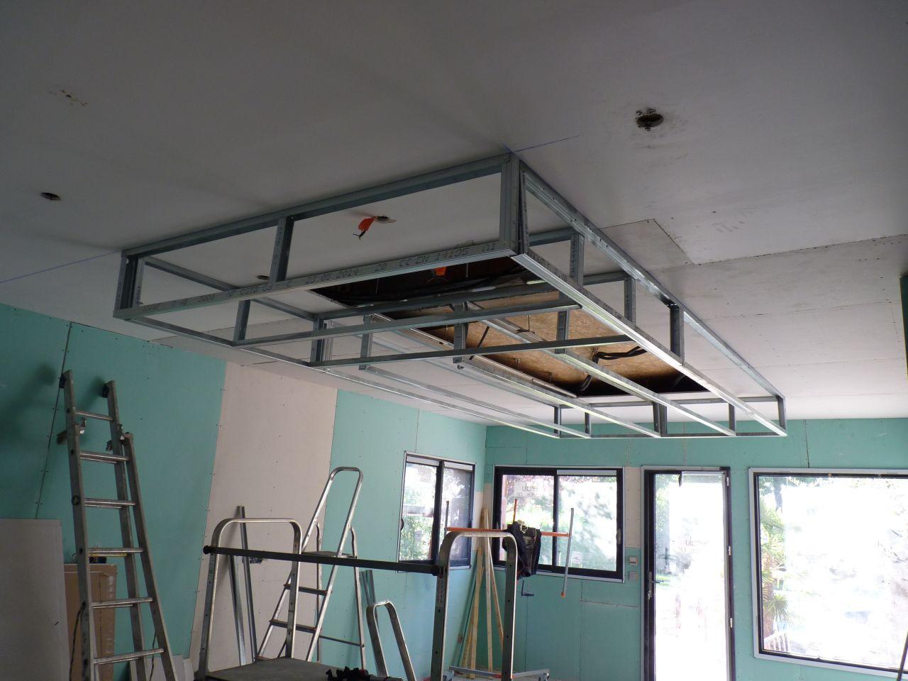 Extension de notre maison haute garonne for Enduire un plafond en placo
