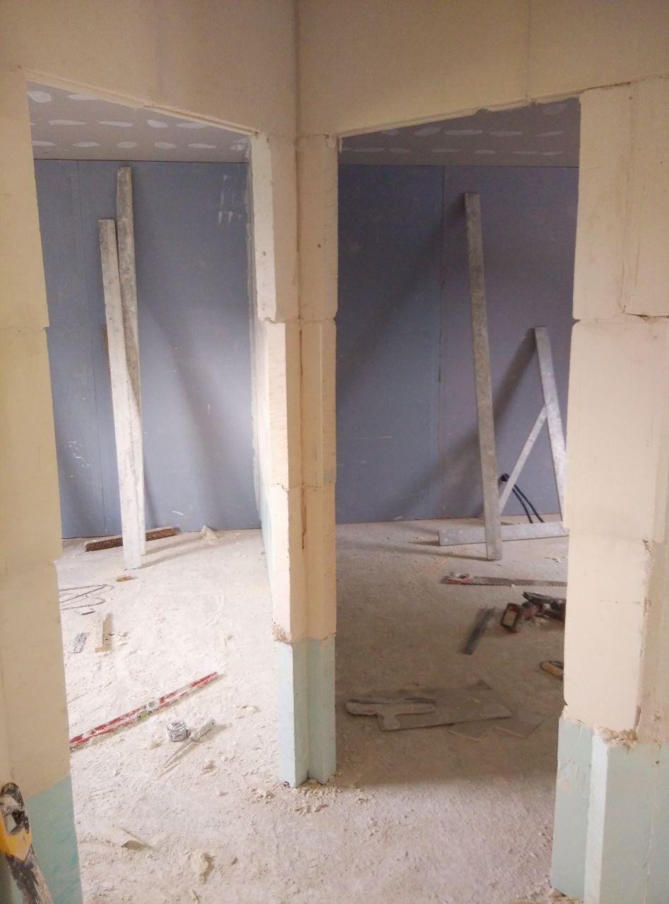 entrée des deux autres chambres de l'etage
