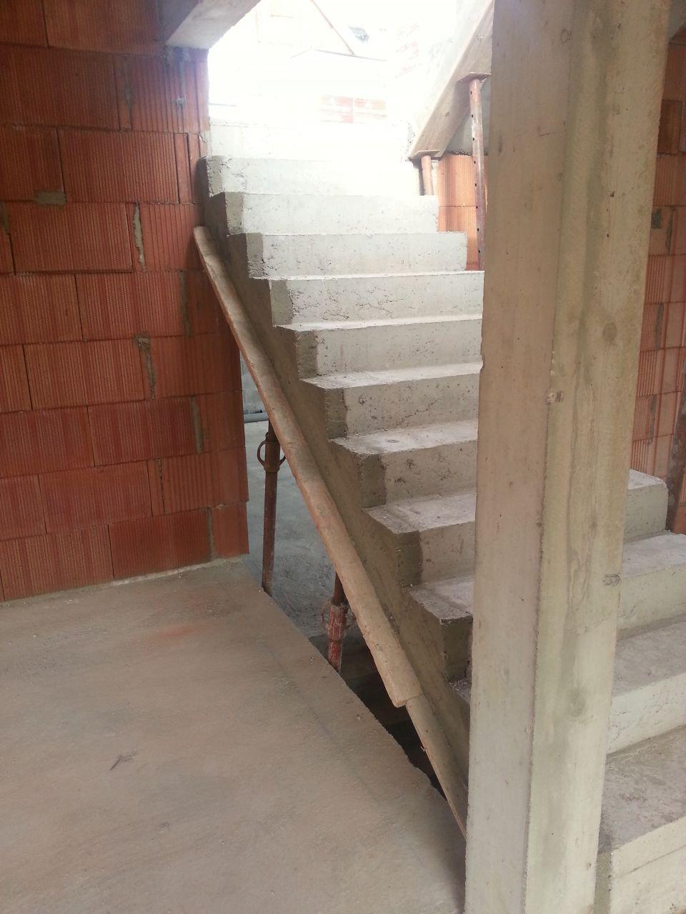 reprise de l'escalier