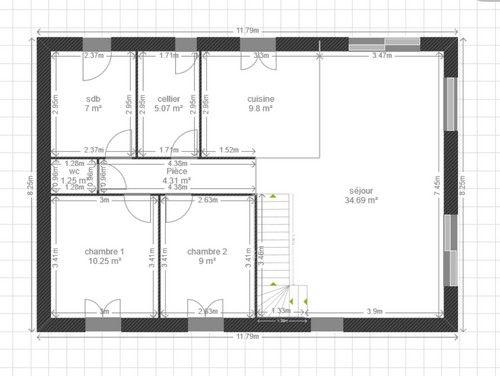 plan s jour emplacement baie vitr e 18 messages. Black Bedroom Furniture Sets. Home Design Ideas
