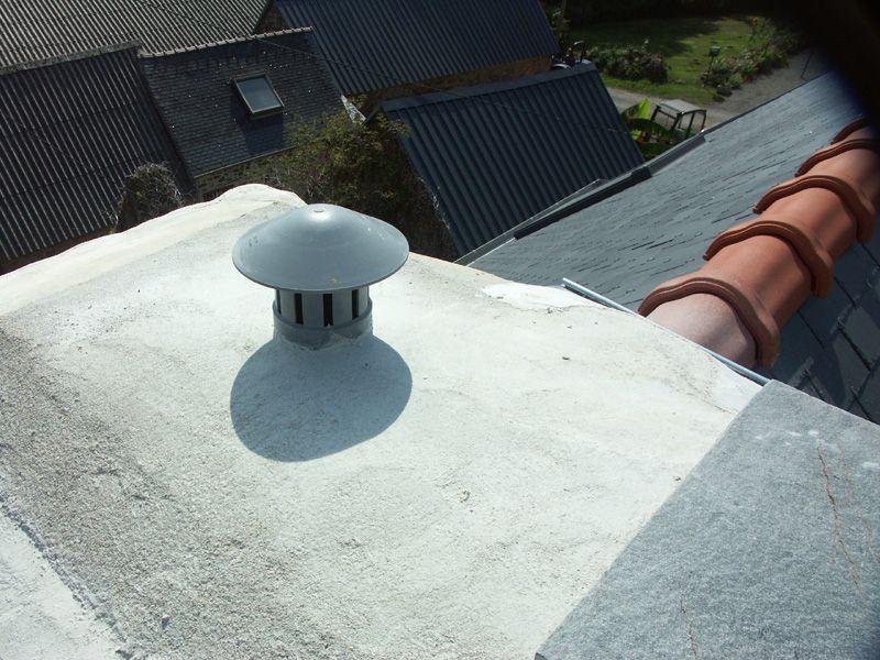 La ventilation de la cheminée