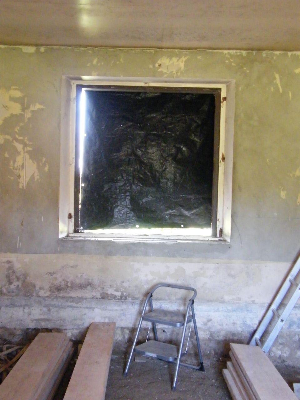 Modif fenêtre avant travaux