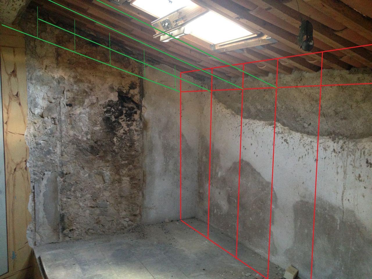 Am nagement du grenier pose des rails 8 messages - Comment poser des rails de placo ...