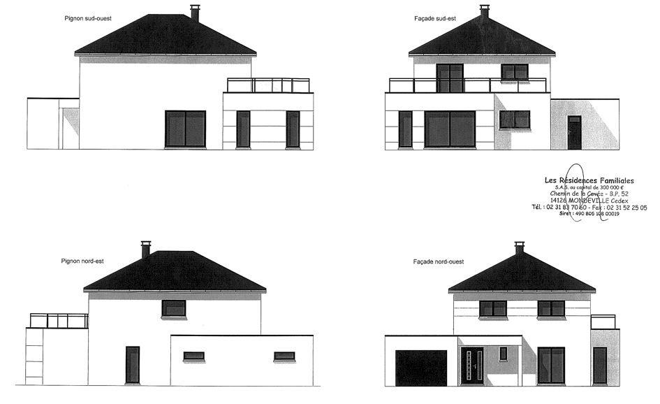 Plans de façade