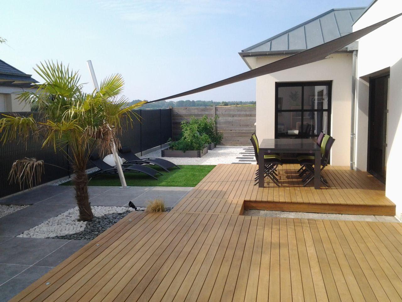 Terrasse en ipé - St Meloir Des Ondes (Ille Et Vilaine - 35) - juillet 2014