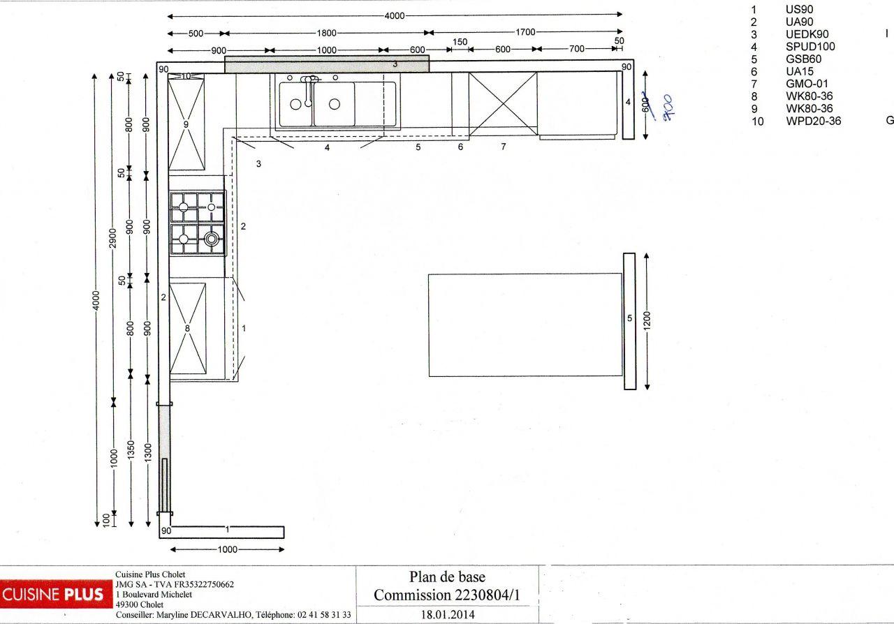 cuisine plan de l 39 implantation bon plan pour l 39 elec carrelage fa ence am nagement. Black Bedroom Furniture Sets. Home Design Ideas