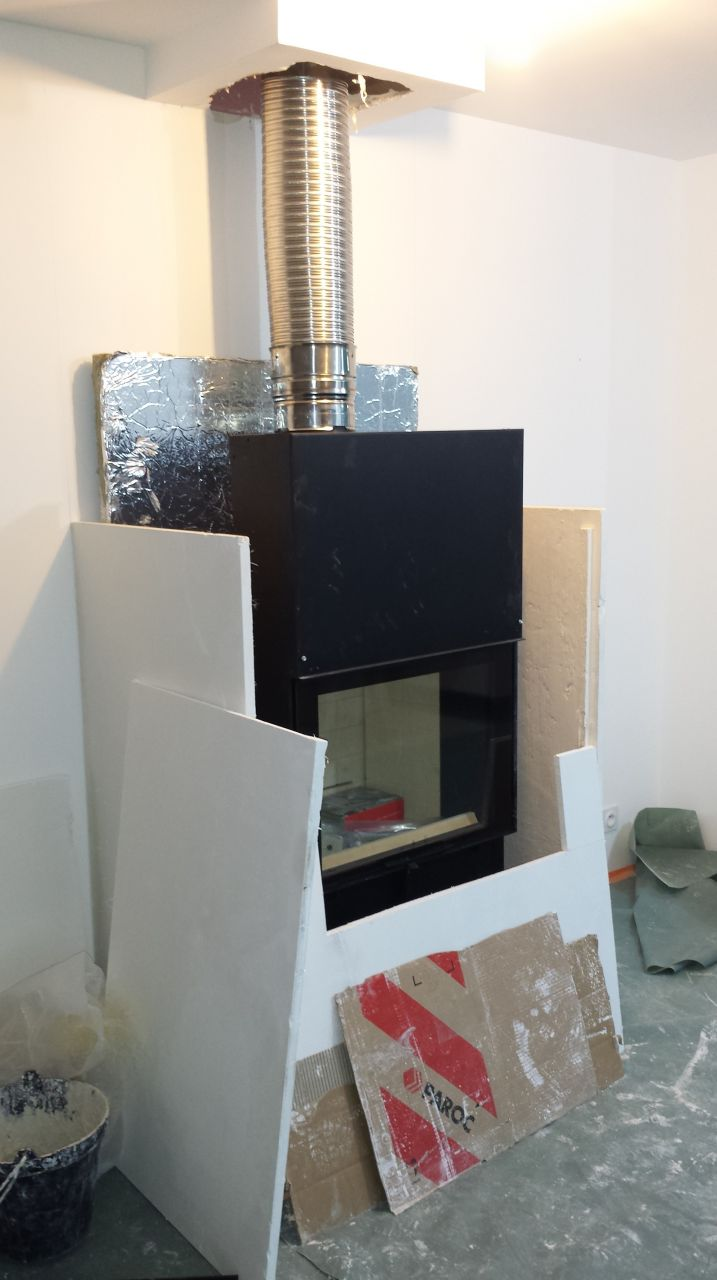 Photo insert foyer ferm chauffage climatisation for Insert et foyer ferme