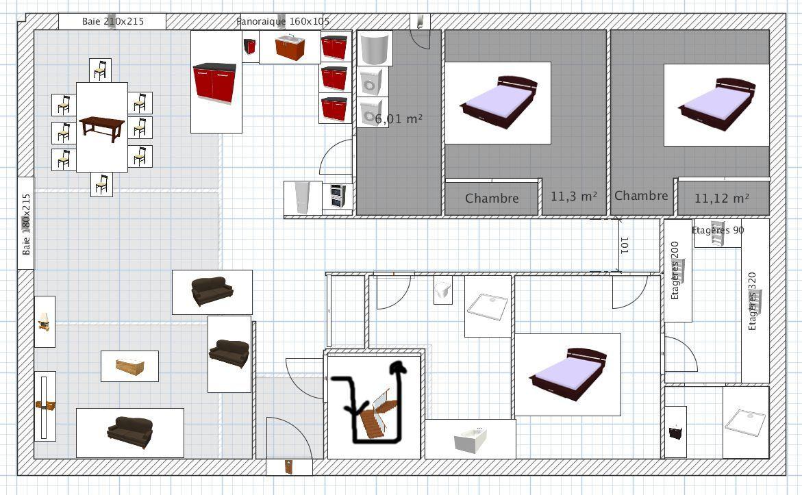 dimensions escalier demie tournant avec paliers 12 messages. Black Bedroom Furniture Sets. Home Design Ideas