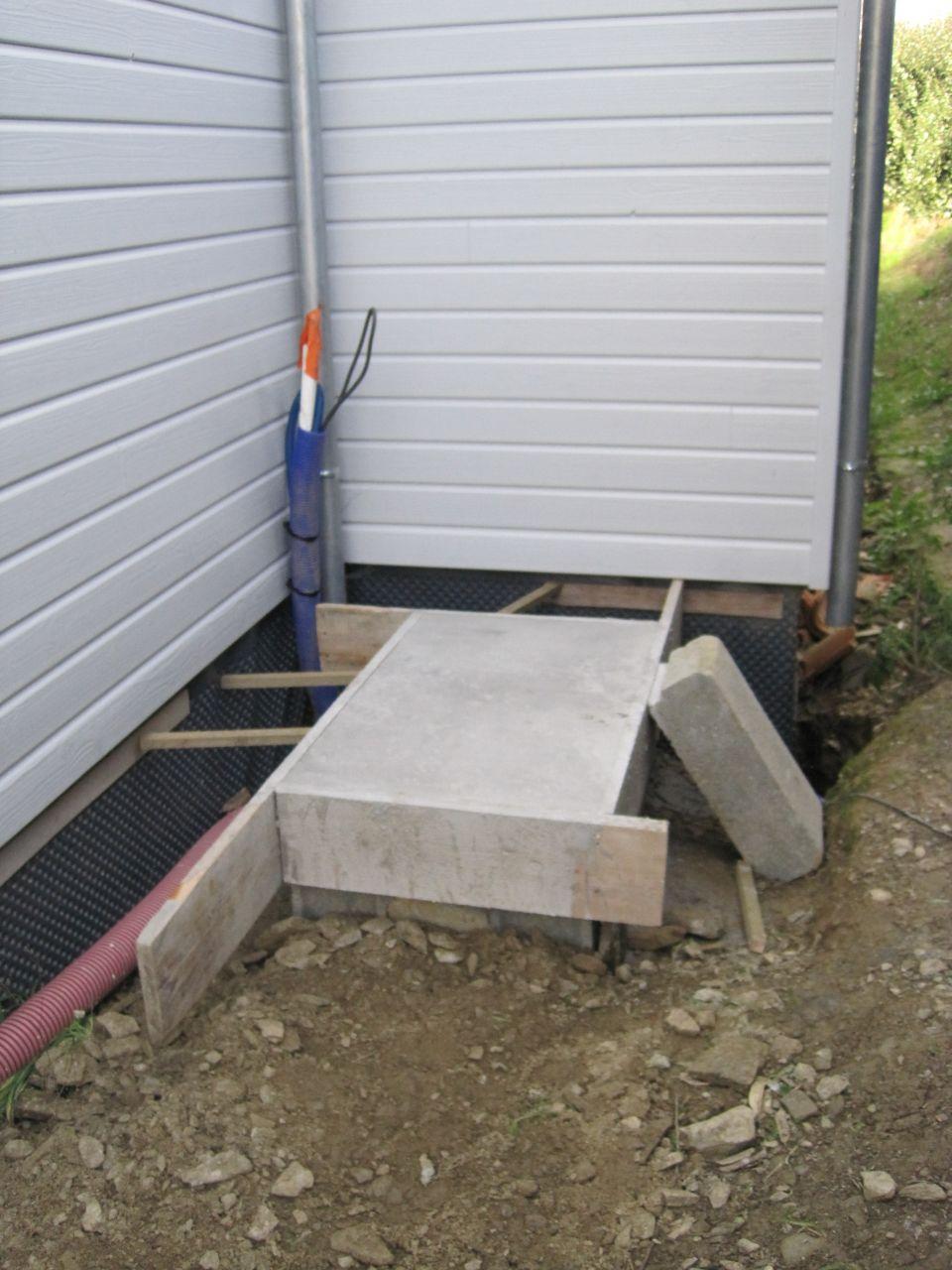 socle béton pour split extérieur