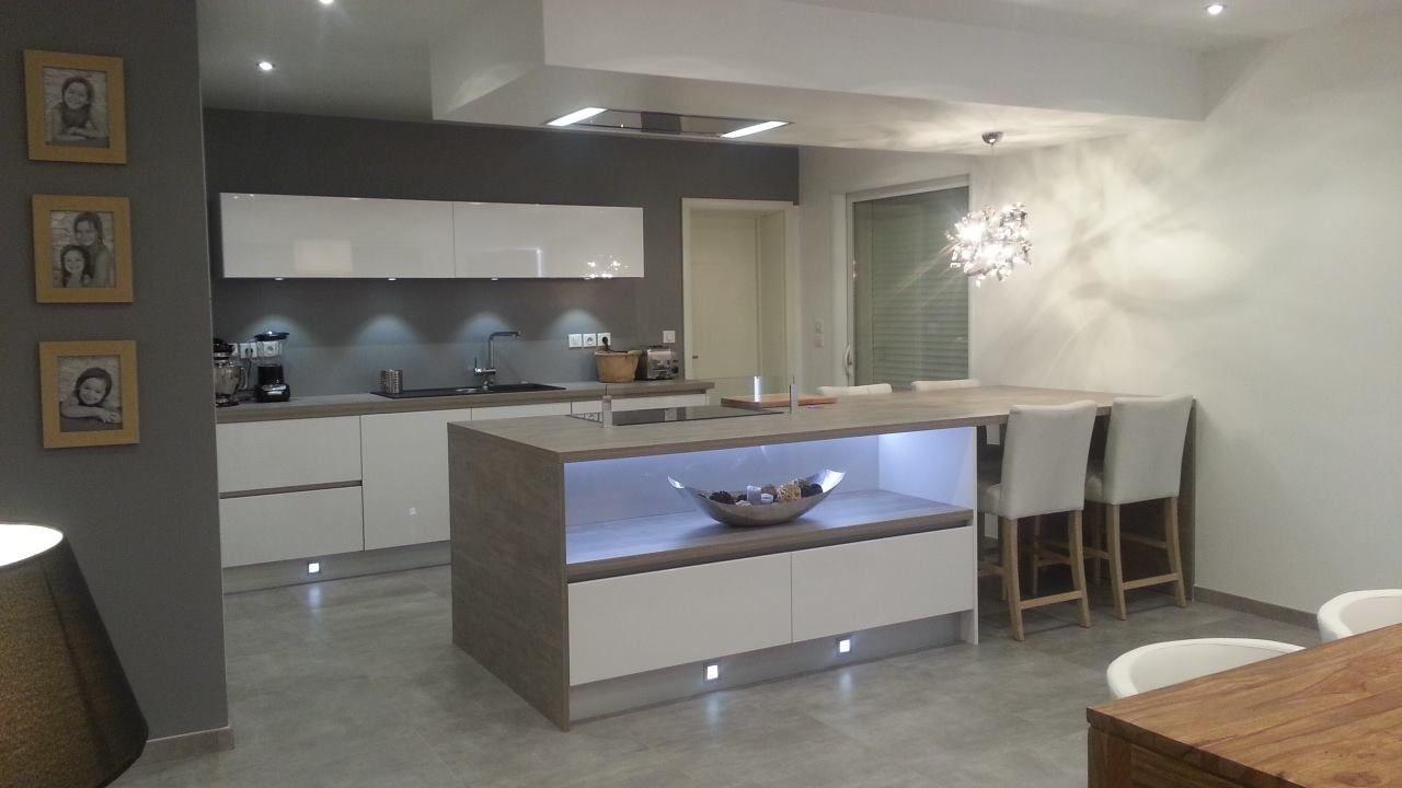 Pied Pour Ilot Central Leroy Merlin ~ Construire Un Ilot Central Cuisine Alamode Furniture Com