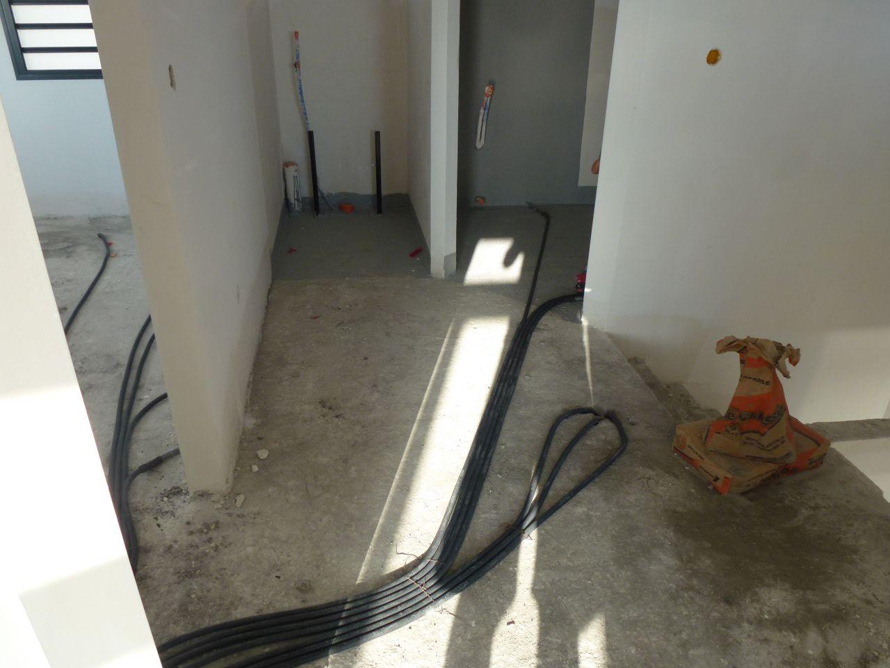 Réseau électrique à l'étage