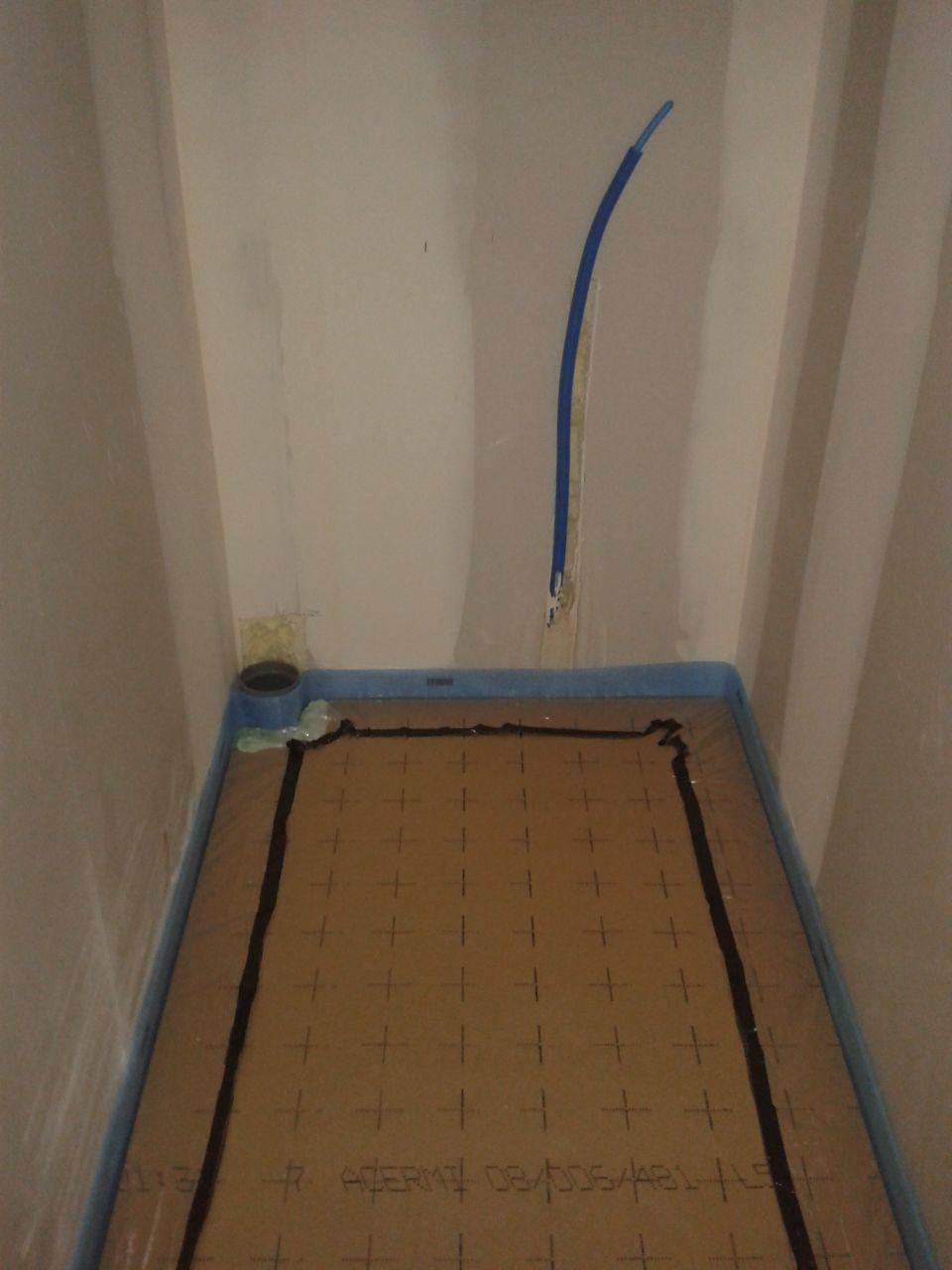 Fin du placo electricit tout est pr t pour couler la for Quel sable pour chape